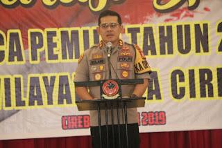 Polres Cirebon Kota Gelar Deklarasi Damai Pasca Pemilu 2019