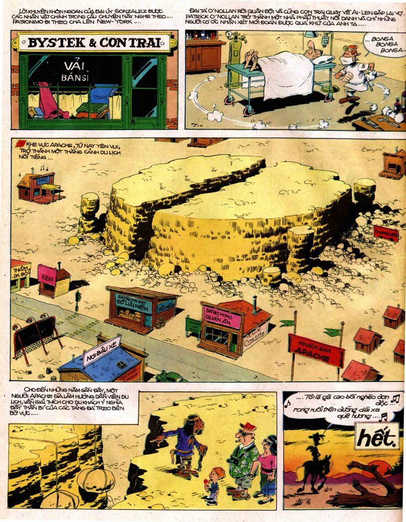 Lucky Luke tap 12 - khe vuc apache trang 44