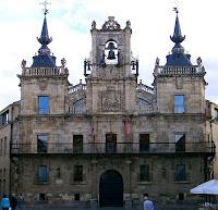 Ayuntamiento; Astorga; León; Castilla y León; Vía de la Plata