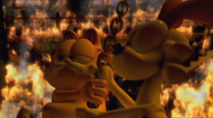 Blores Com Garfield Gets Real 2007 Movie Screenshots