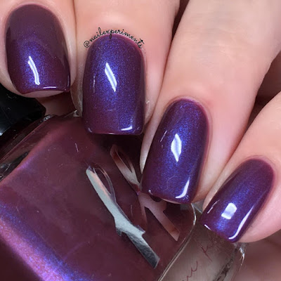 femme fatale currant wine swatch from the green gables collection