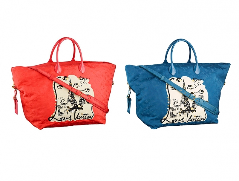 Louis Vuitton Limited Edition Handbags 2012 The Art Of Mike Mignola