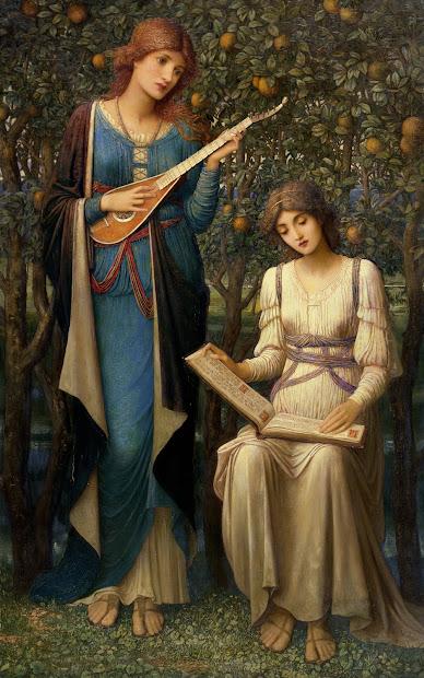 Medieval Painting Pre-Raphaelite