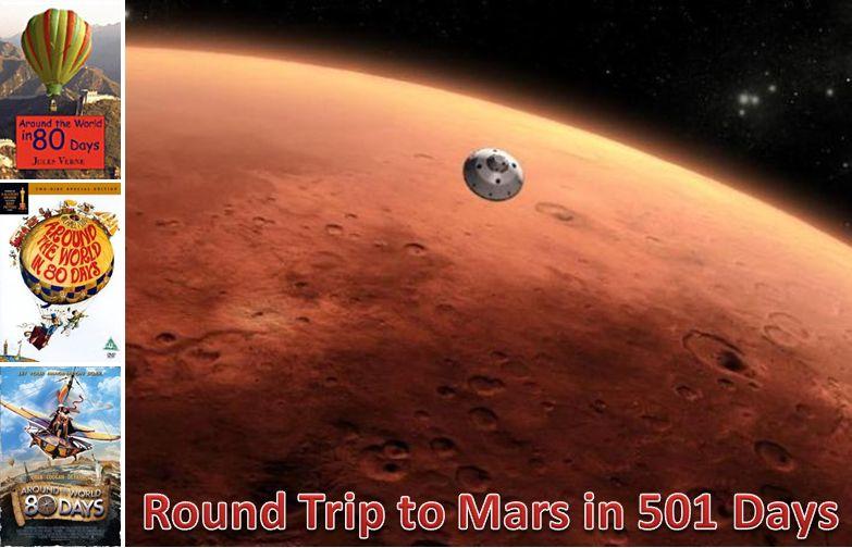 Round trip to Mars in 501 Days ~ Silicon Buzzard