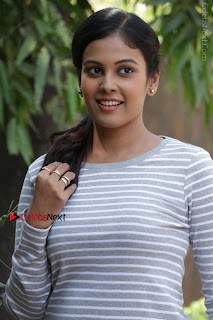 Tamil Actress Chandini Tamilarasan Latest Pos in Ripped Jeansat Ennodu Vilayadu Press Meet  0007.jpg