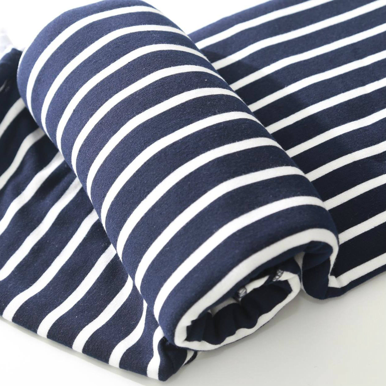 BabyUltra First Wrap Stretchy Wrap - Navy Stripes