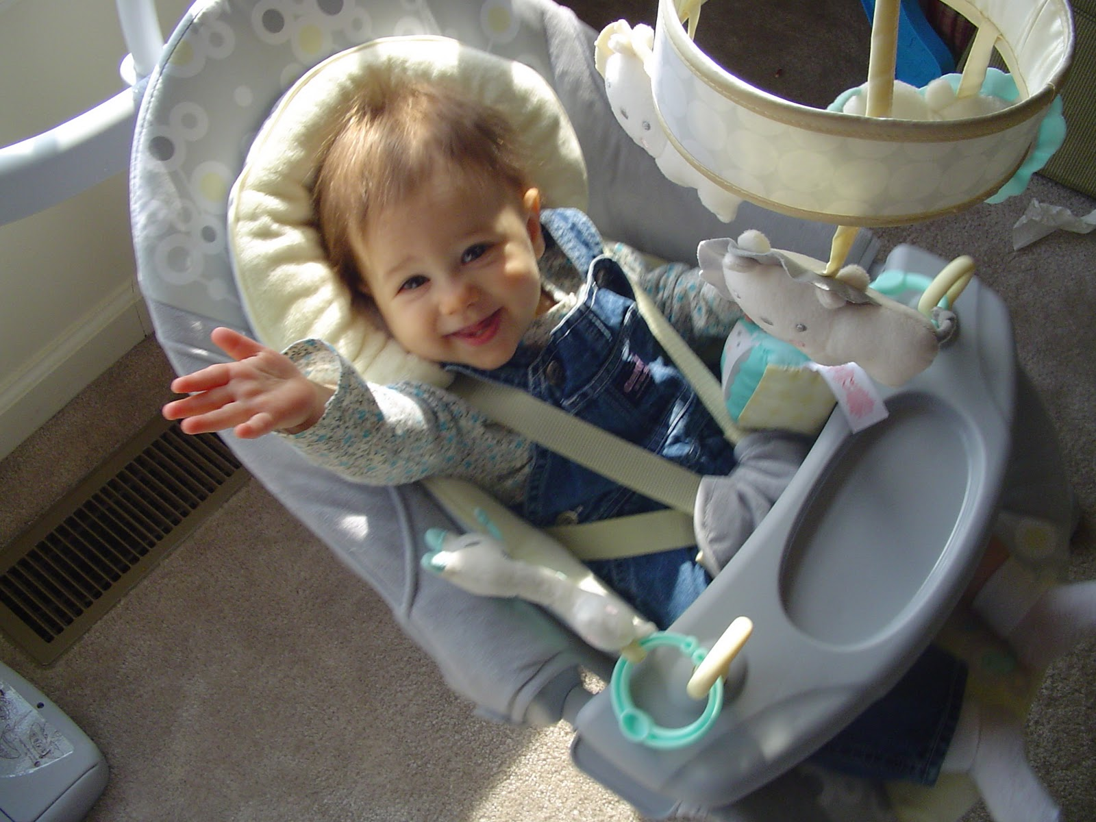 Ingenuity Cradle And Sway Swing Review Thrifty Nifty Mommy