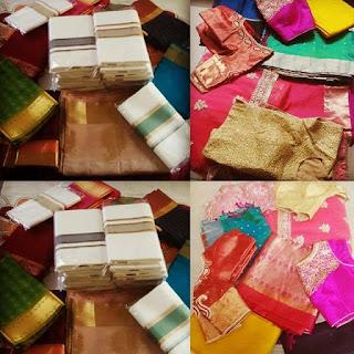 Saree, Wedding, Indian Wedding, Kerala wedding