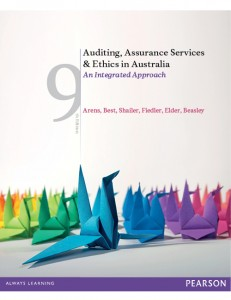 audit and assurance services 9th edition