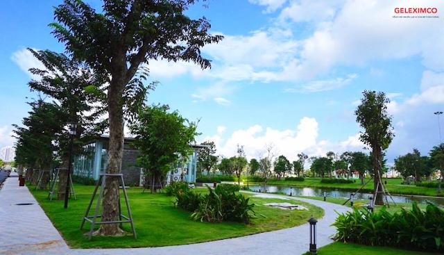 cảnh quan thiên nhiên dự án shophouse Lê Trọng Tấn