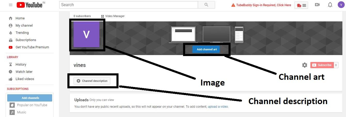 youtube channel kaise banate hain
