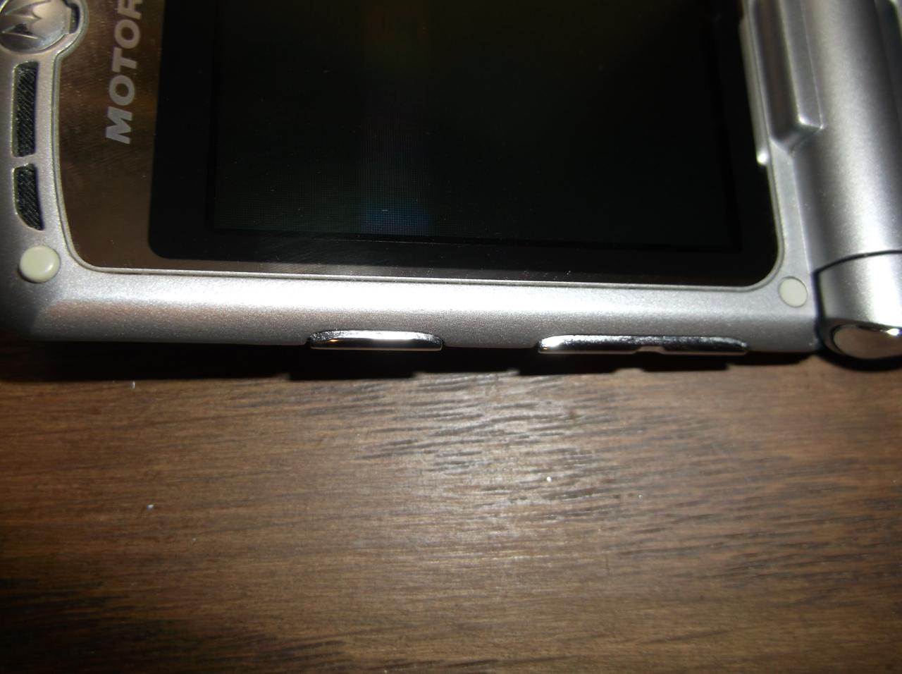 Geek Like Me Too A Counterfeit Motorola Razr V3 Cell Phone
