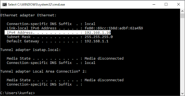 Cara Mengetahui IP Address PC atau Ponsel dengan Mudah
