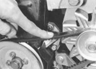 VW GolfII apriete correa alternador- Alternator belt torque