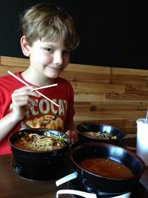 Logan Guleff Skewer Ramen Memphis TN blogger MasterChef Junior USA 2