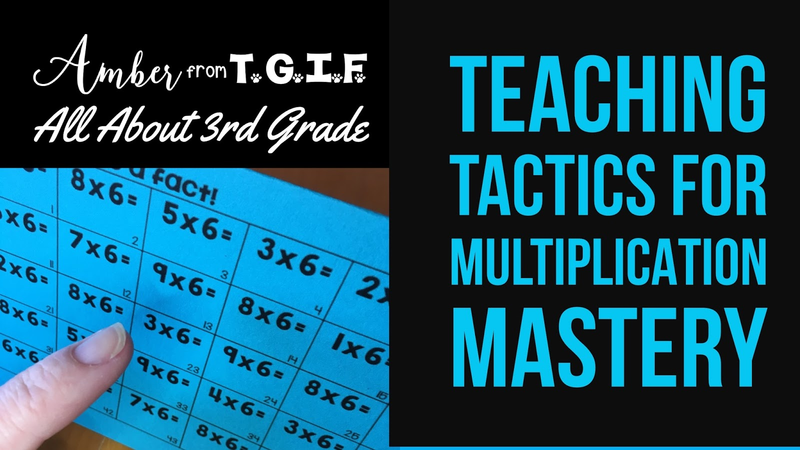 Most Effective Teaching Tactics for Multiplication Mastery | All ...
