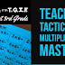Most Effective Teaching Tactics for Multiplication Mastery