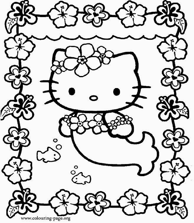 Mermaid coloring pages inspires creativity and artistic expression. Free Coloring Pictures Mermaid Pictures To Color