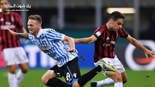 ميلان يفوز علي سبال في الدوري الايطالي ويخسر تاهله لدوري ابطال اوروبا الموسم القادم