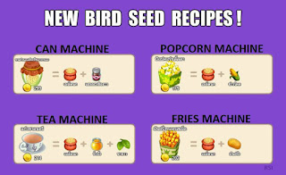 Bird Seed Recipes in Royal Story