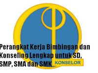 Perangkat Kerja Bimbingan dan Konseling Lengkap untuk SD, SMP, SMA dan SMK