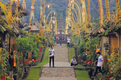 foto desa panglipuran bali