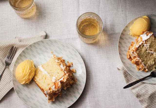 Toasted Coconut Layer Cake With Seven-Minute Frosting Recipe
