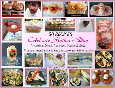 Mother's Day 50 recipes | www.BakingInATornado.com | #MyGraphics