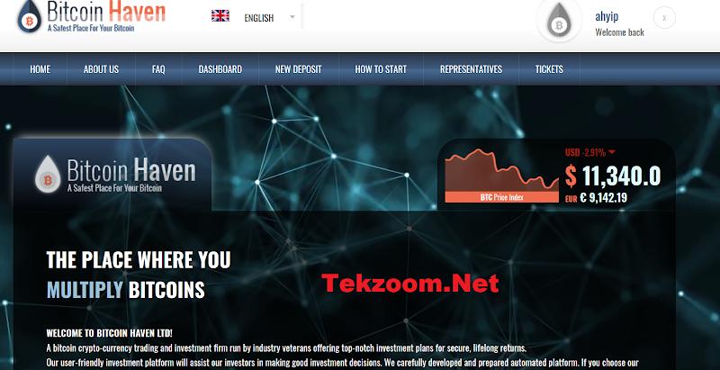 [SCAM] Review BitcoinHaven Ltd - Lãi từ 8% hằng ngày mãi mãi - Đầu tư tối thiểu 0.001 BTC - Thanh toán tức thì