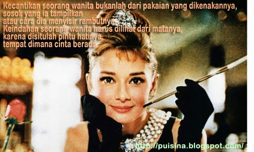 Audrey Hepburn Poem By Sam Levenson in Indonesian