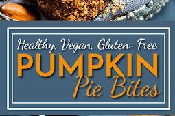 No Bake Pumpkin Pie Balls | Gluten Free, Vegan