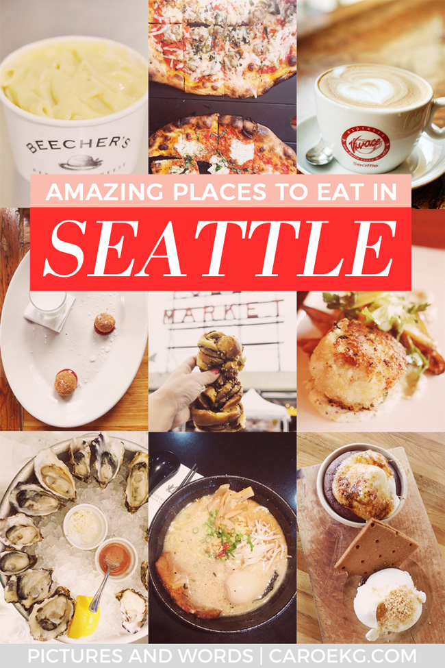 Wondering where to eat in Seattle? Here are some of the best places to eat in Seattle and some of the best Seattle restaurants and bars! This is the perfect Seattle foodie list of all my favorites. #seattle #washington #emeraldcity #visitseattle #seattledining #foodie #seattleeats