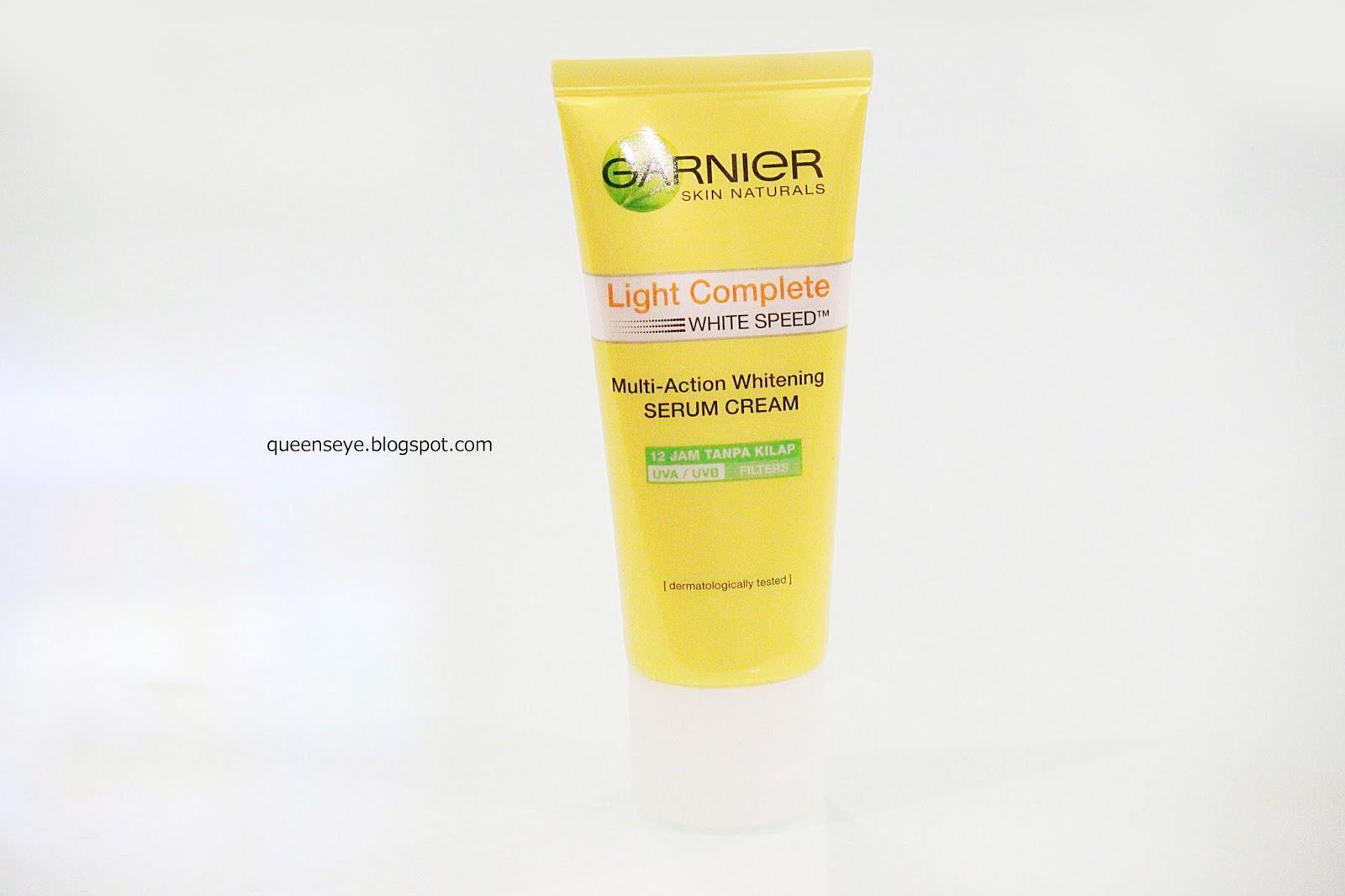 Queens Eye Garnier Light Complete White Speed Super Foam 10 100ml Berikut Adalah Tekstur Dari Krim Wajah Rangkaian
