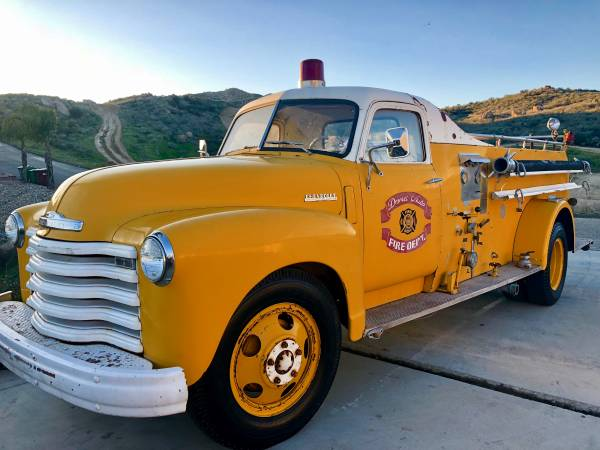 Chevrolet Loadmaster Fire Truck