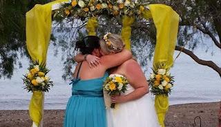 Γάμος με δύο νύφες στο Κάτω Ζάκρο της Κρήτης