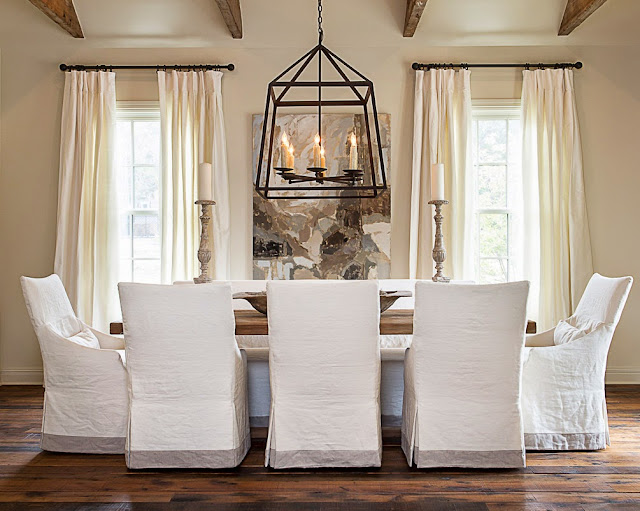 Dining Room Chair Slipcovers Advantages