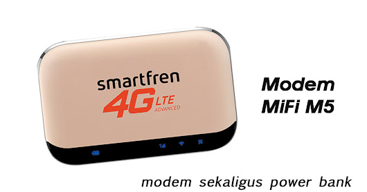 Modem MiFi M5, Modem Sekaligus Power Bank