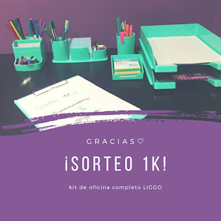 ¡Sorteo 1K en instagram! | Kit de oficina completo LIGGO
