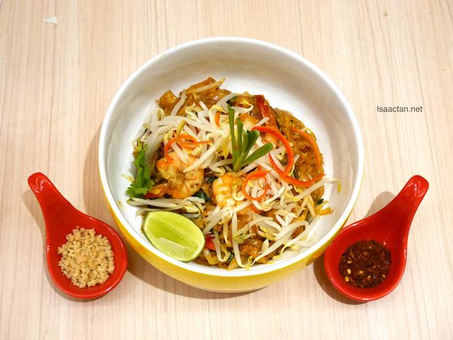 Phad Thai Noodles with Prawn - RM21.90