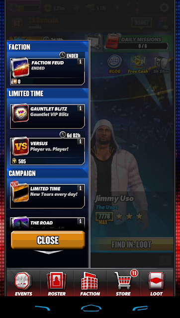 WWE Champions Events