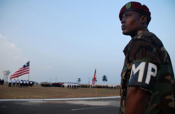 Polisi militer Liberia