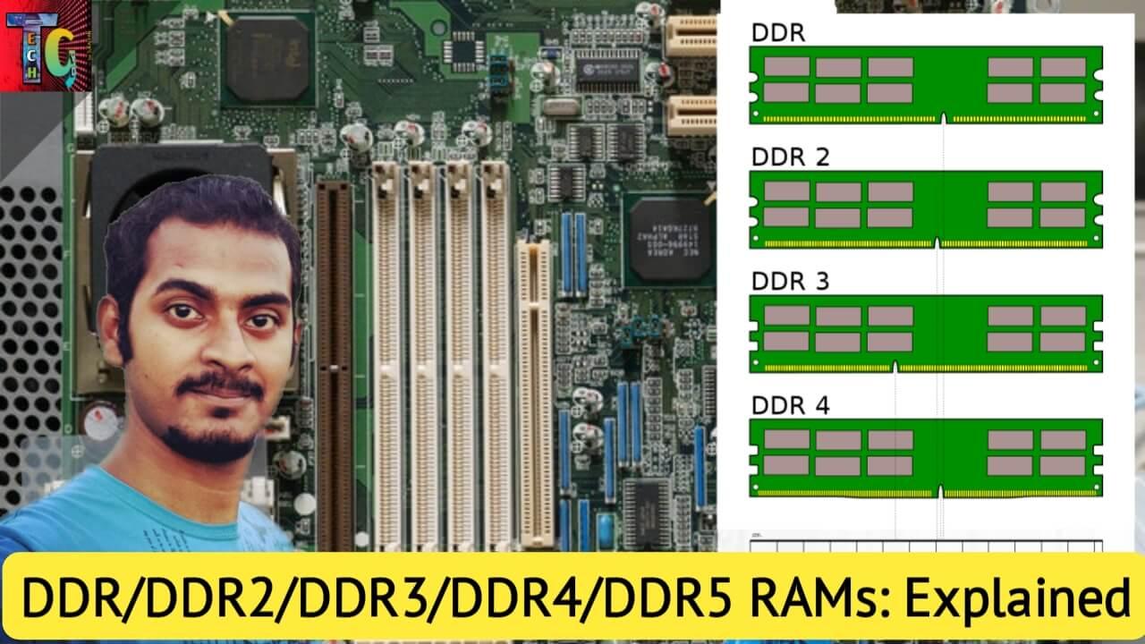 DDR2 vs DDR3 vs DDR4 vs DDR5 RAMs: Explained in Detail