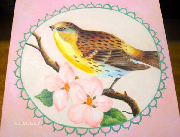 Paso a paso pinta una flor con acrílicos, pintura decorativa