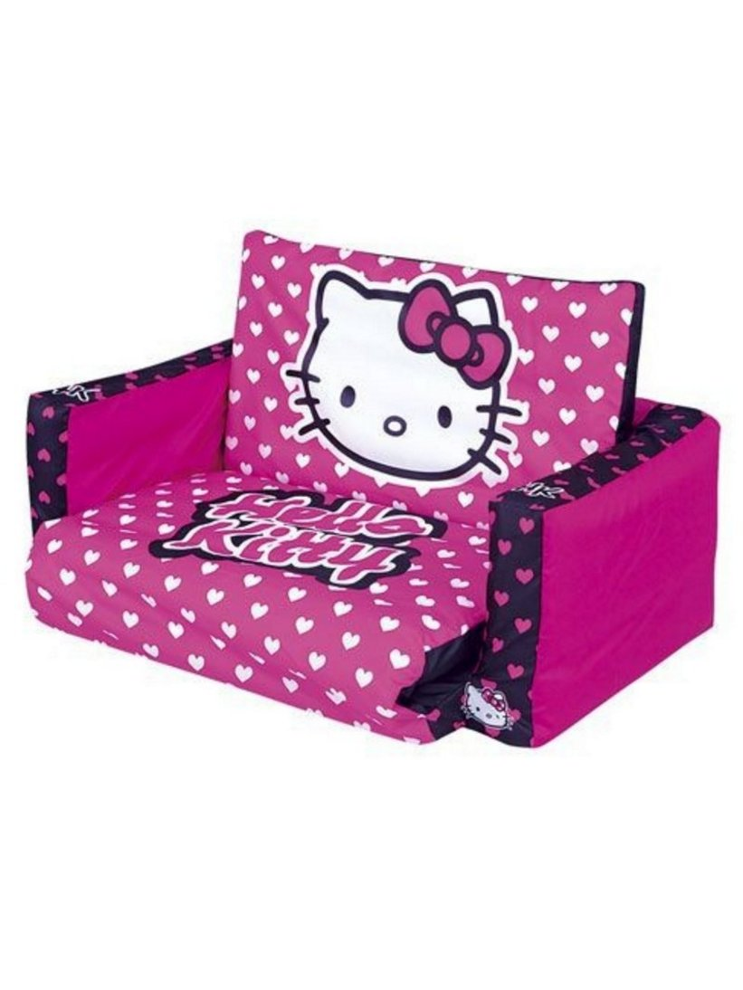 sofa ruang tamu hello kitty 1