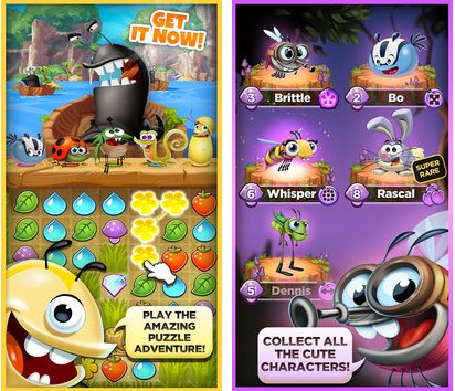 Patch Best Fiends Puzzle Adventure Cheat Data OBB Pro Apk Baru