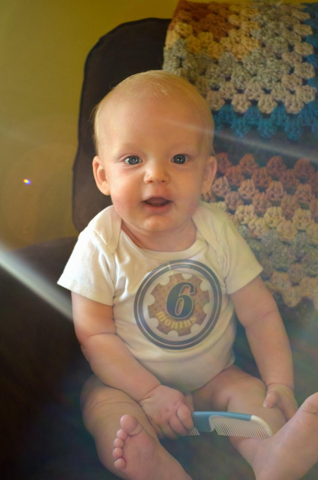 Beckham at 6 months.