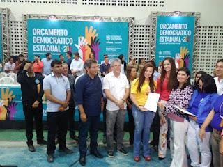 Prefeito Alyson e Manassés Dantas participam de reunião do OD em Cuité