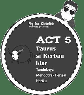 Ilustrasi dalam novel Zodiac Date Taurus