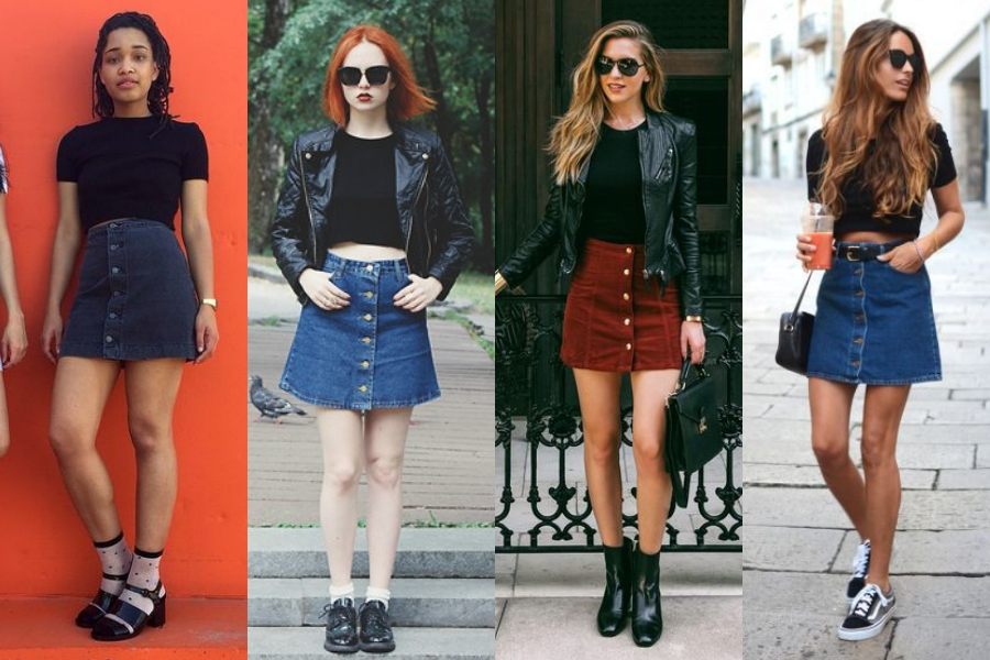 button-up-skirts-outfits
