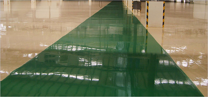 Types of painted concrete floors and how to choose yours - Minimum temperature for painting ...